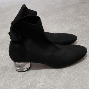 Zara socks booties